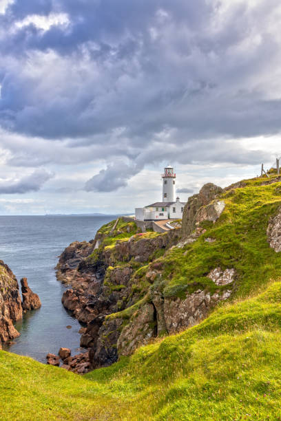 Fanad Head Lighthouse in County Donegal, Irland – Foto