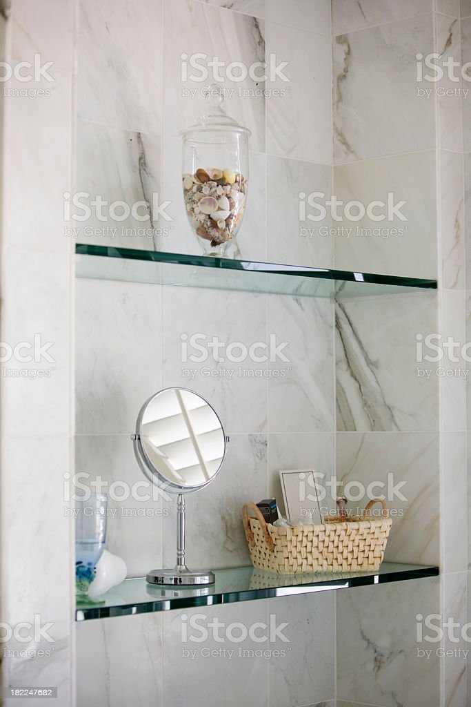 Fancy Bathroom stock photo