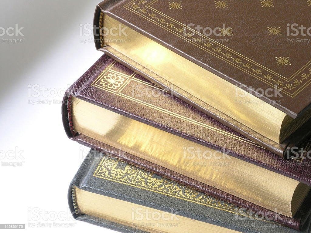 Fancy Books stock photo