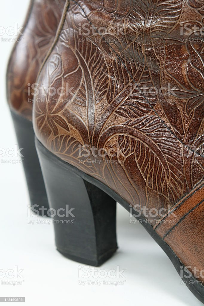 Fancy Boots Closeup stock photo