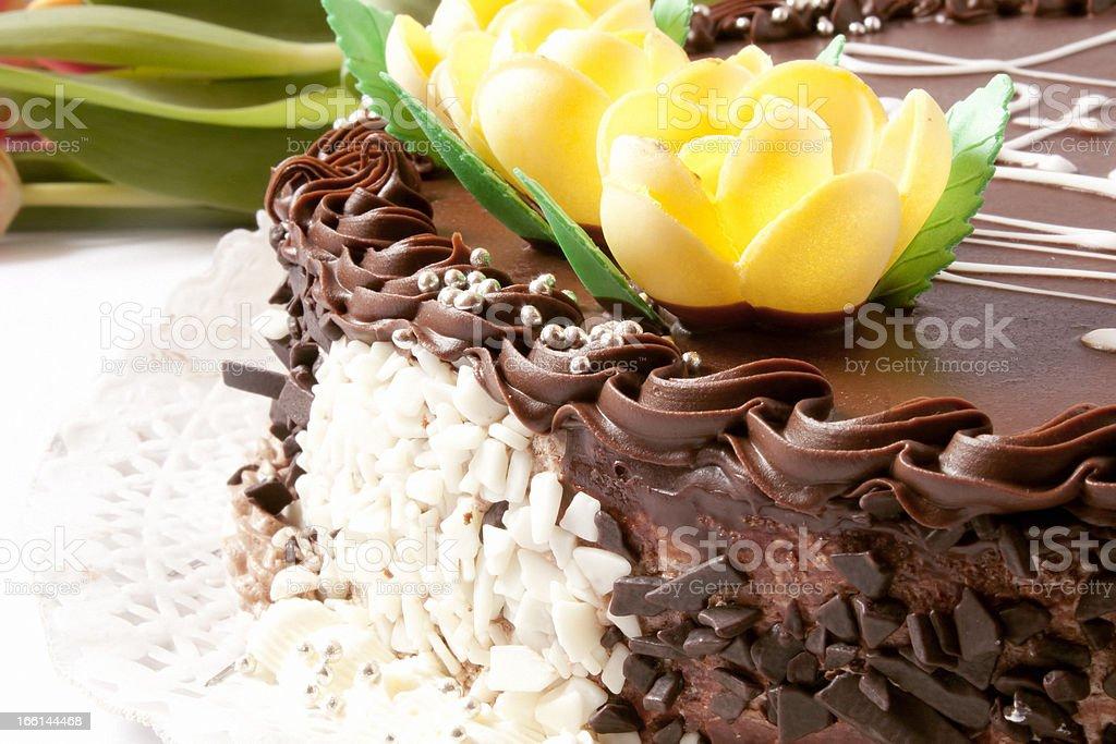 Fancy cake royalty-free stock photo