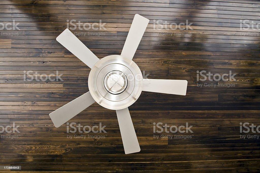 fancy ceiling fan stock photo