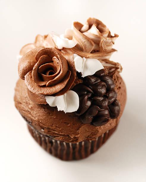 Fancy cupcake stock photo