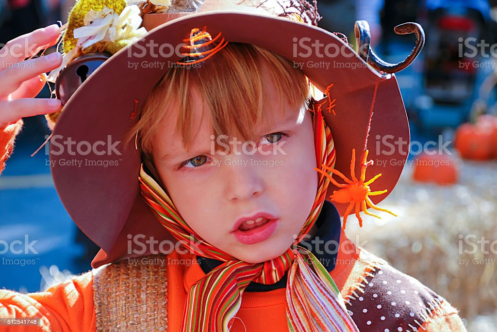 Fancy dress for halloween stock photo