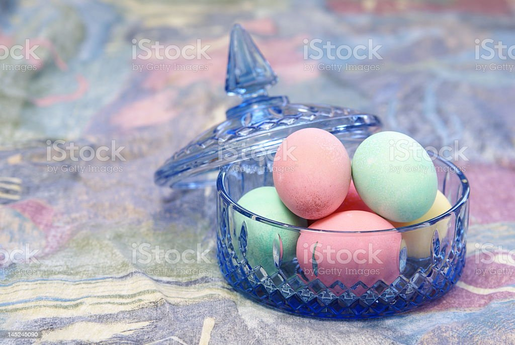 Fancy Easter Eggs royalty-free stock photo