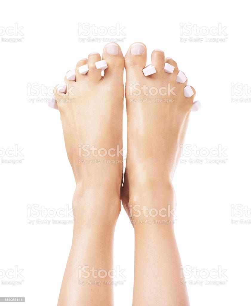 Fancy feet royalty-free stock photo