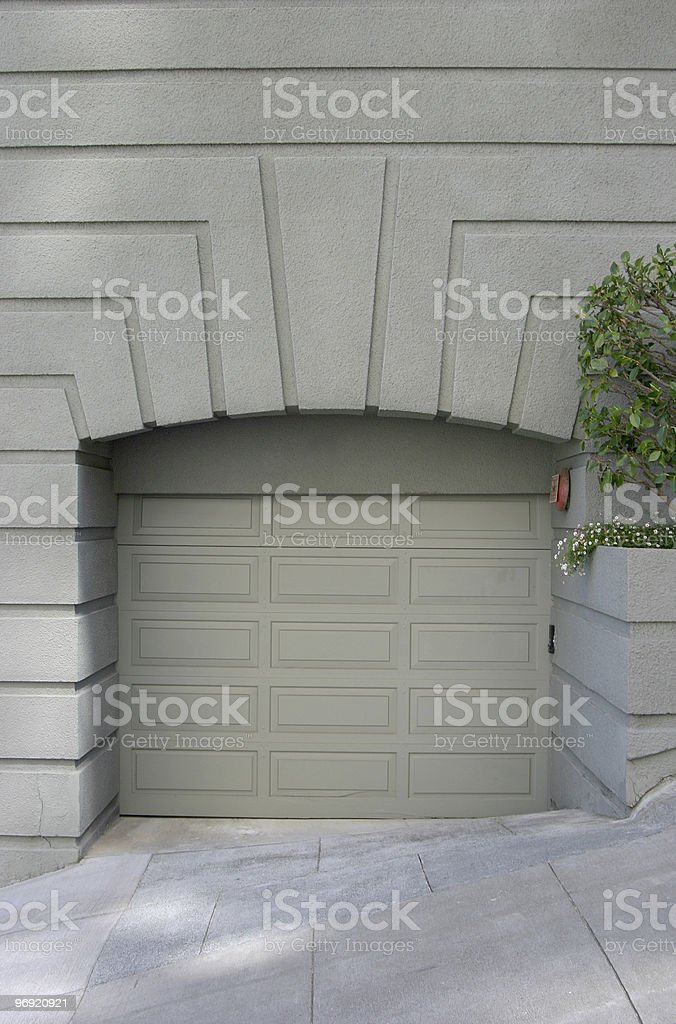 Fancy Garage 2 royalty-free stock photo
