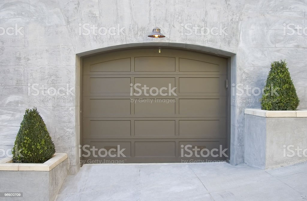 Fancy Garage royalty-free stock photo