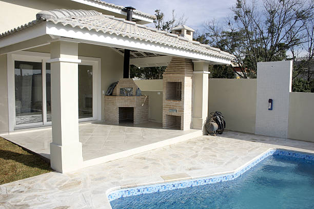 Fancy home stock photo
