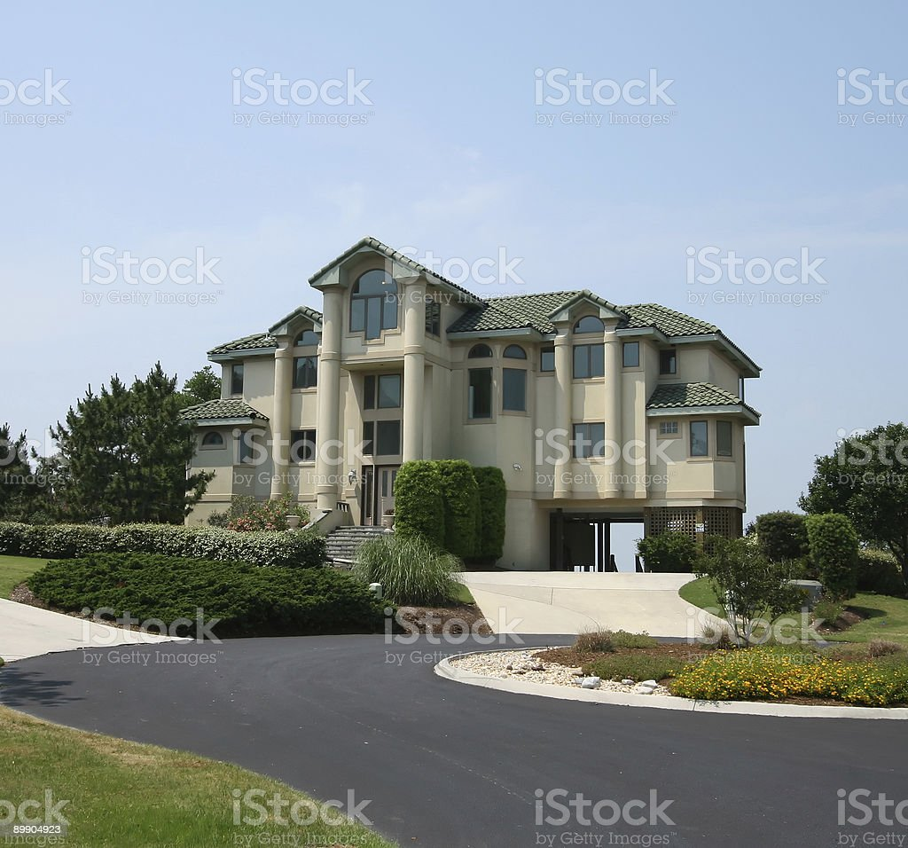 Fancy House royalty free stockfoto