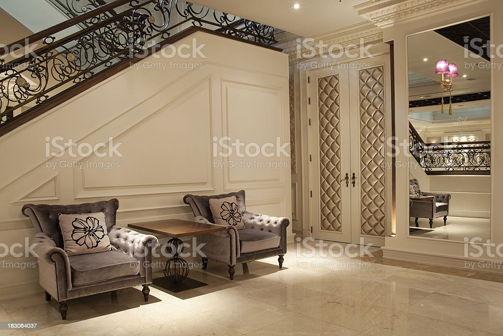 Fancy Interior stock photo