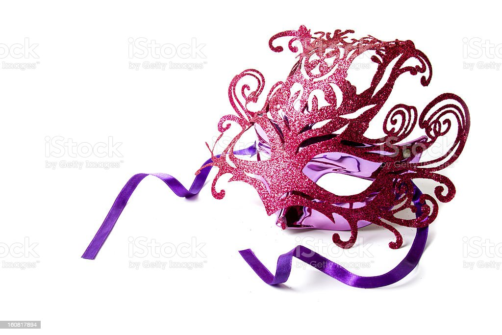 Fancy Mask royalty-free stock photo