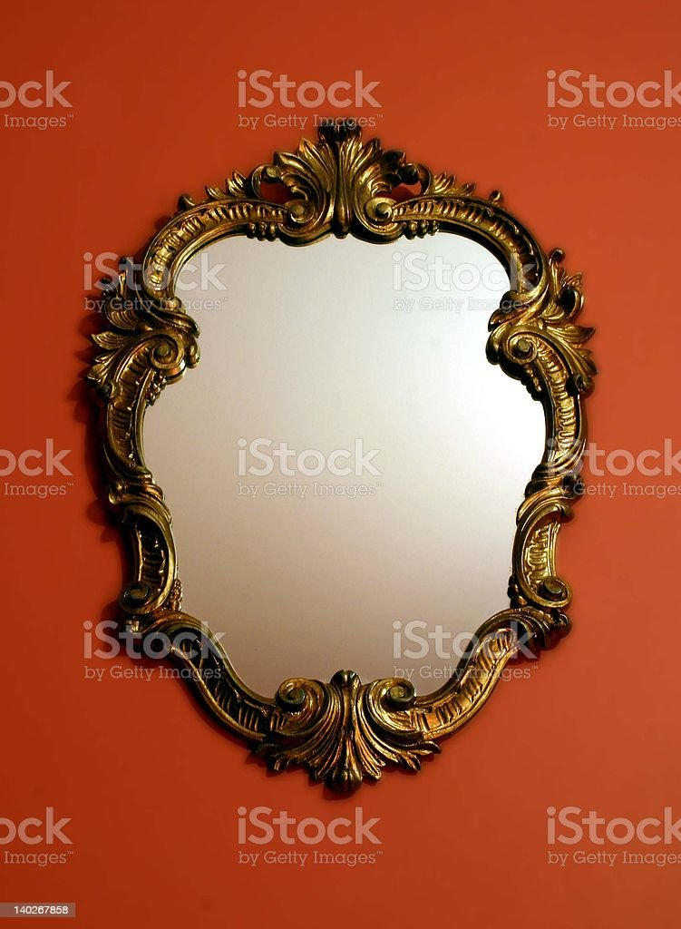 Fancy Mirror stock photo