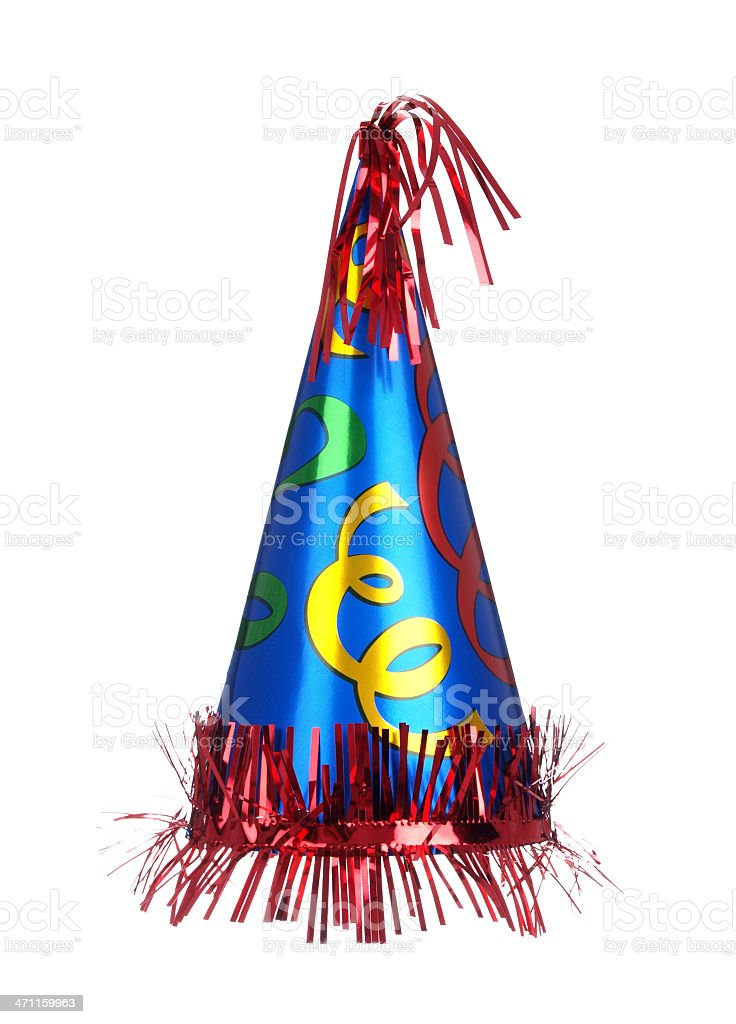 Fancy Party Hat royalty-free stock photo