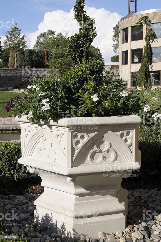 Fancy Planter royalty-free stock photo