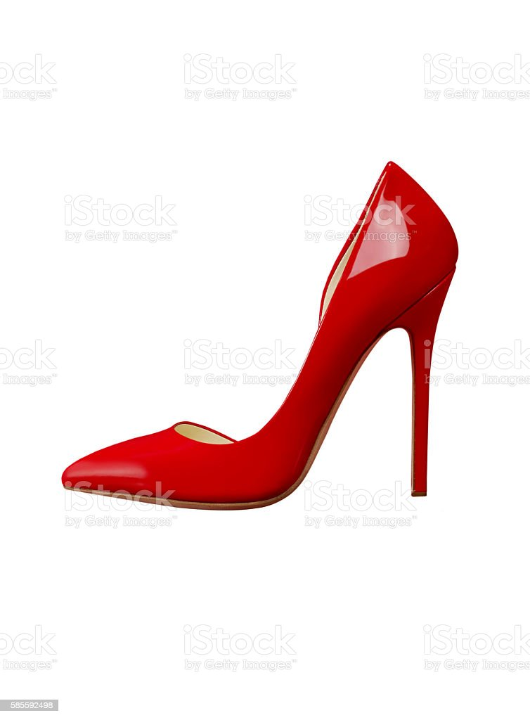 Fancy shoe stock photo