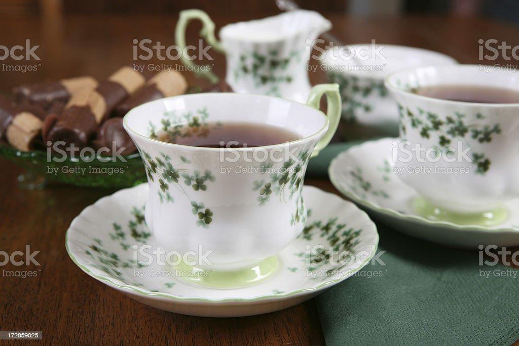 Fancy tea royalty-free stock photo