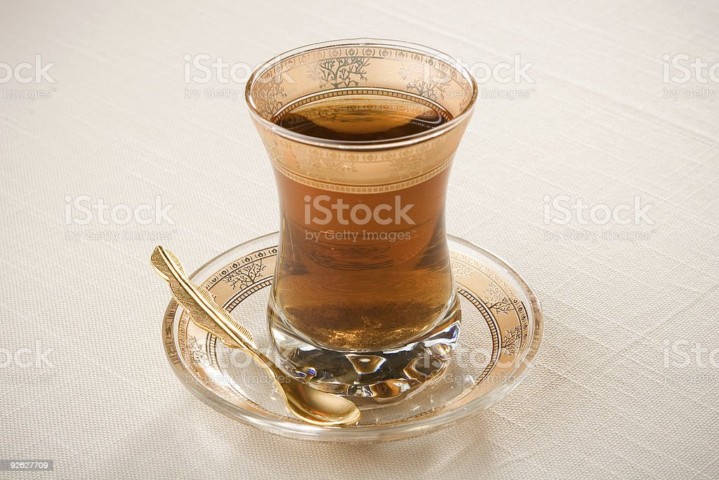 fancy tea royalty-free stock photo
