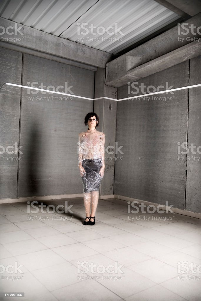 Fancy wrapping royalty-free stock photo
