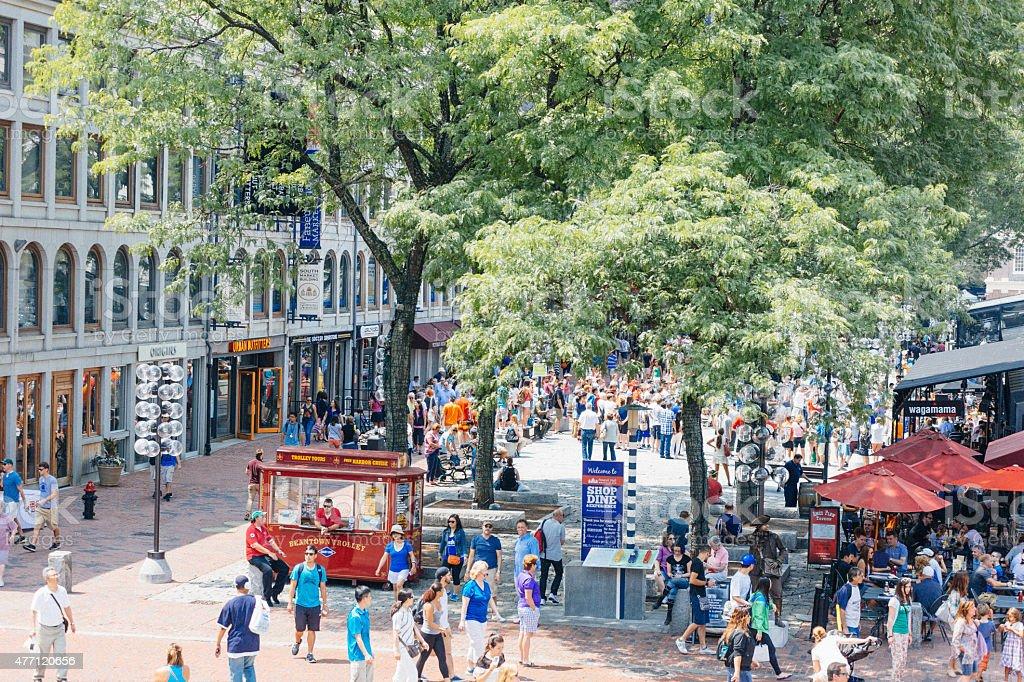 Faneuil Hall Marketplace stock photo