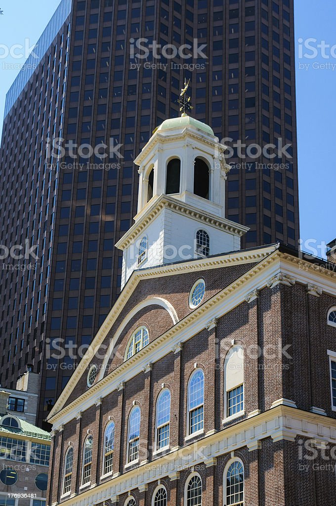 Faneuil Hall-Boston stock photo