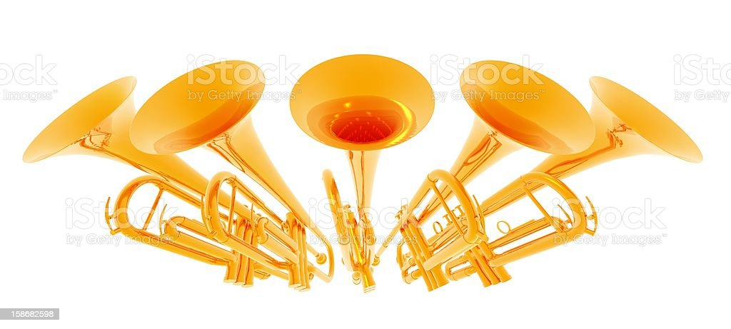 Fanfare royalty-free stock photo