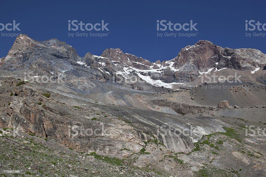 Fann Mountains (Central Asia) stock photo