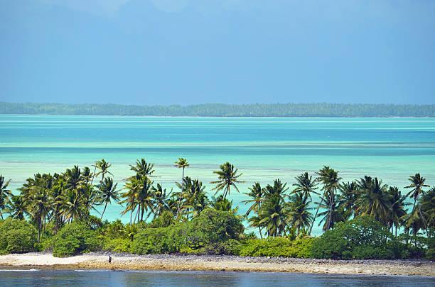 Fanning Island, Republic of Kiribati stock photo