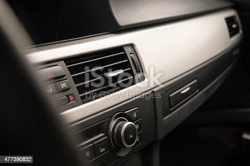 istock Fans in a modern car 477390832