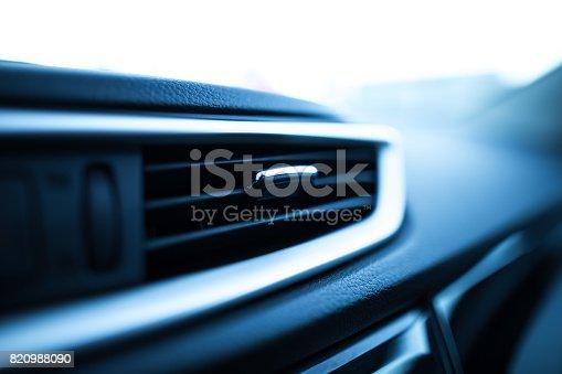 istock Fans in a modern car 820988090