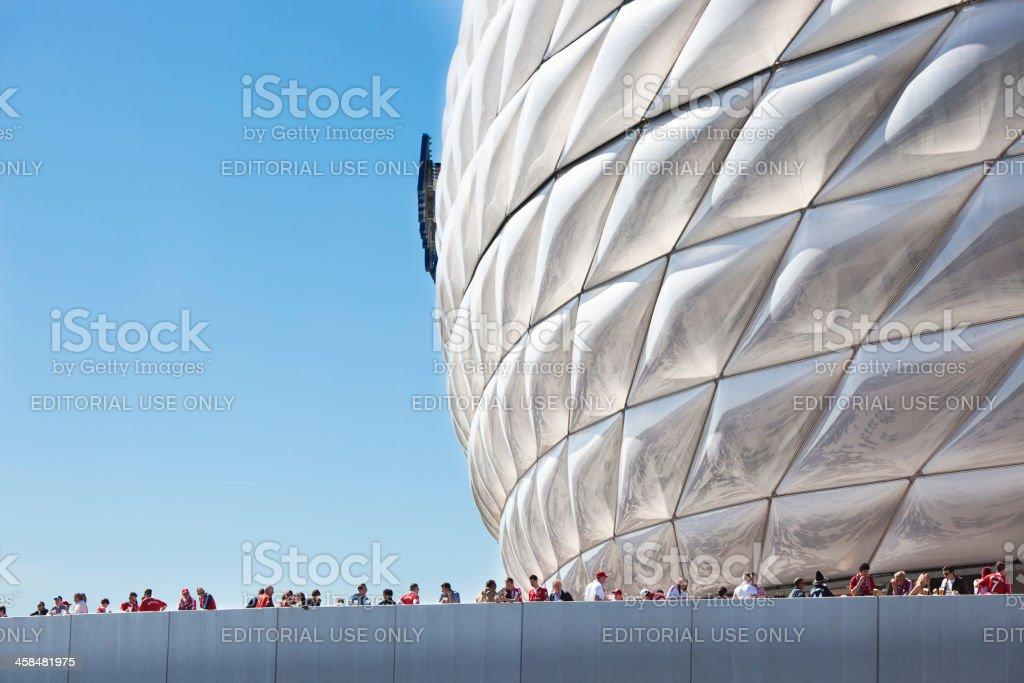 Fans von Fußball club Bayern München, Deutschland – Foto