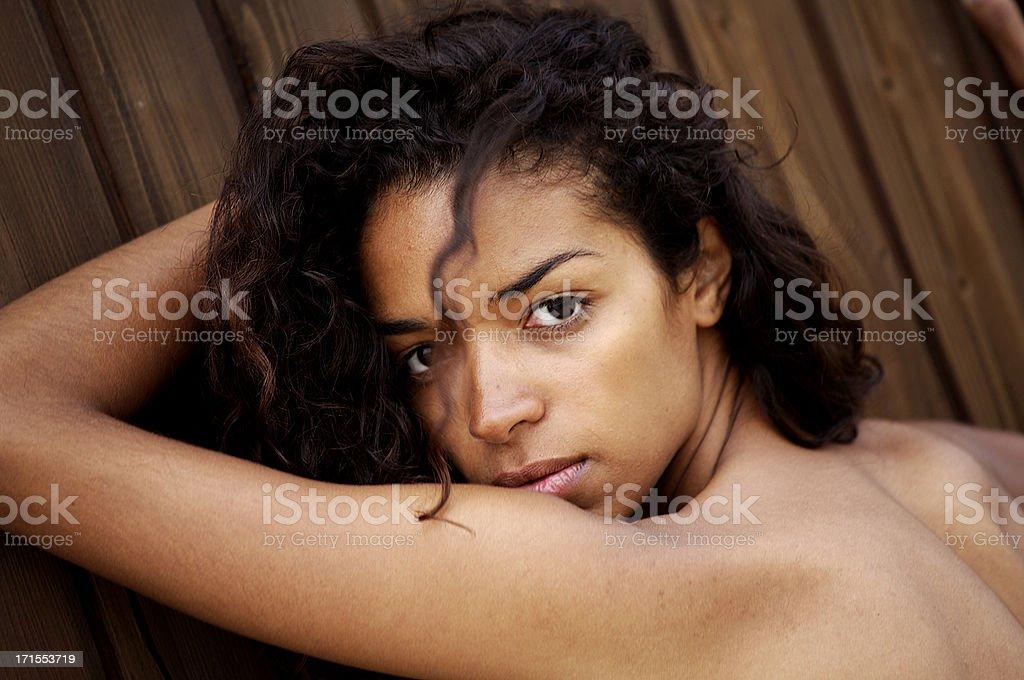 Fantastic brasilian girl royalty-free stock photo