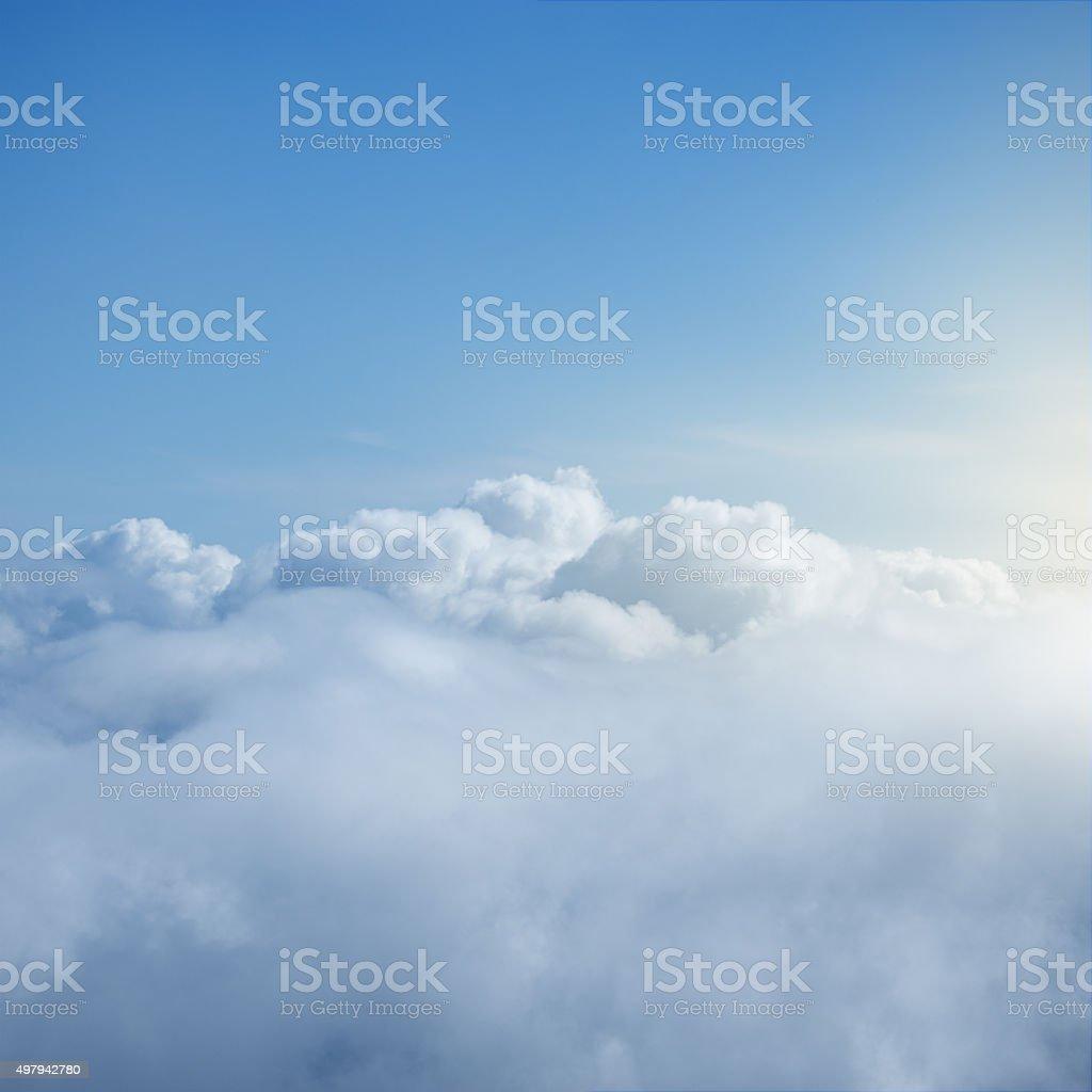 Fantastic cloudscape. stock photo