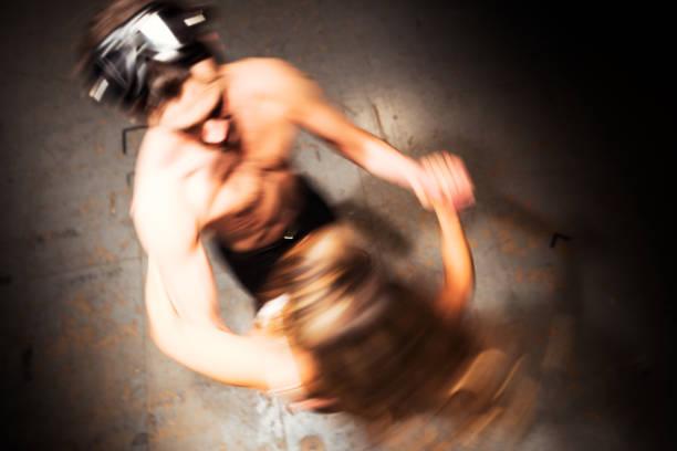 fantastische tänzer - rock n roll kleider stock-fotos und bilder