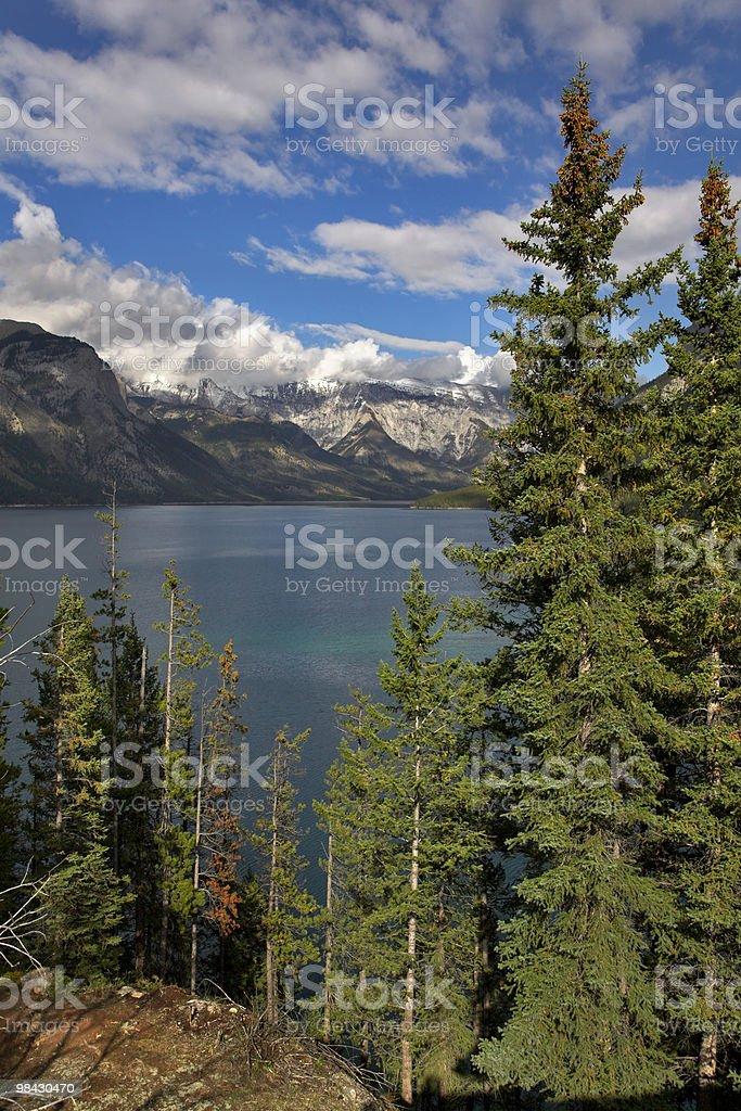 Fantastic lake. royalty-free stock photo