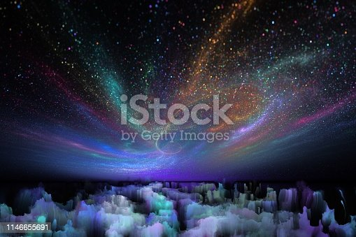 istock fantastic landscape of another planet 1146655691