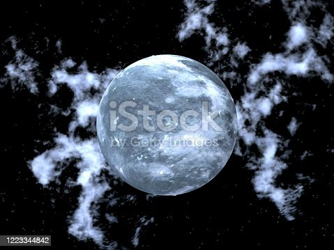 478539432 istock photo Fantastic landscape of Moon and Spase 1223344842
