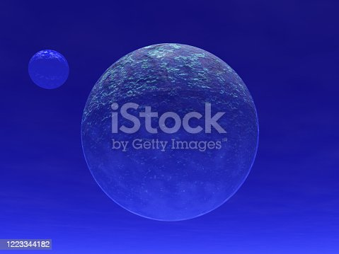 478539432 istock photo Fantastic landscape of Planets and Spase 1223344182