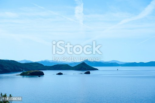 istock Fantastic panorama from Datca peninsula, Turkey 1151539253