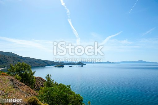 istock Fantastic panorama from Datca peninsula, Turkey 1151543427