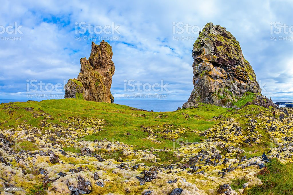 Fantastic rocks stock photo