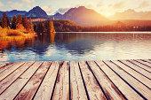 istock Fantastic Shtrbske Pleso High Tatras. Slovakia, Europe. 543579750