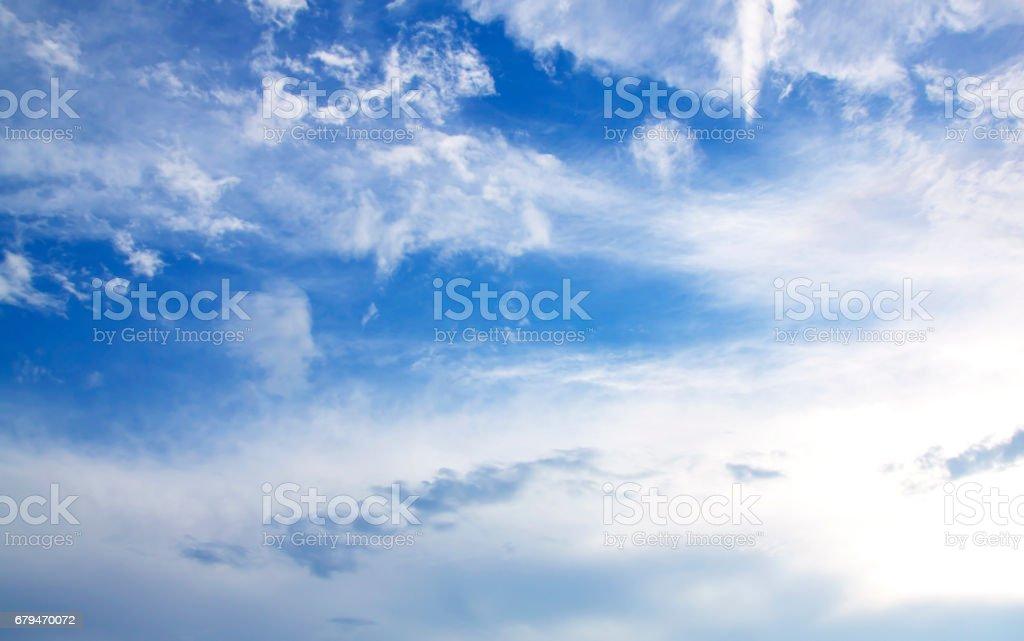 Fantastic soft white clouds 免版稅 stock photo