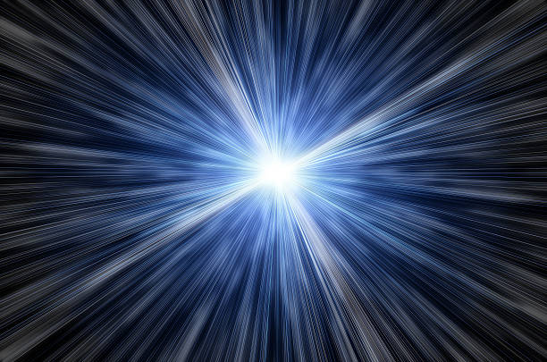 Fantastic space speed. future light  irradiation stock pictures, royalty-free photos & images