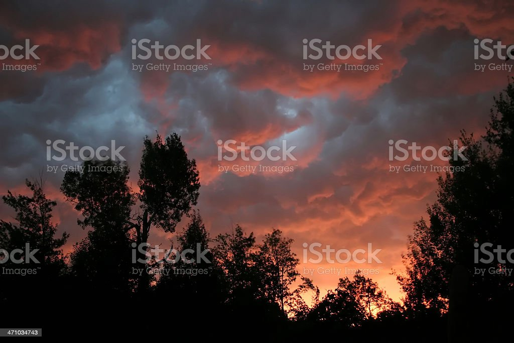 Fantastic storm (step 2) royalty-free stock photo
