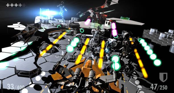 Fantastische Videospiel-Bühne – Foto