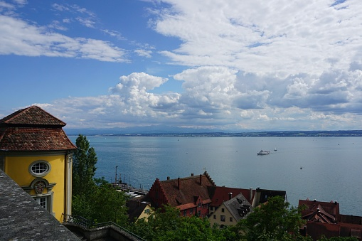 View point above Lanke Constance