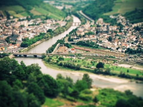 Fantastic view over the Rheingau to Bingen