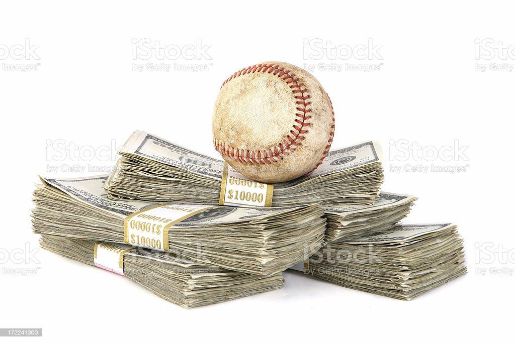 Fantasy Baseball royalty-free stock photo