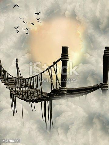 istock Fantasy Bridge 495756292